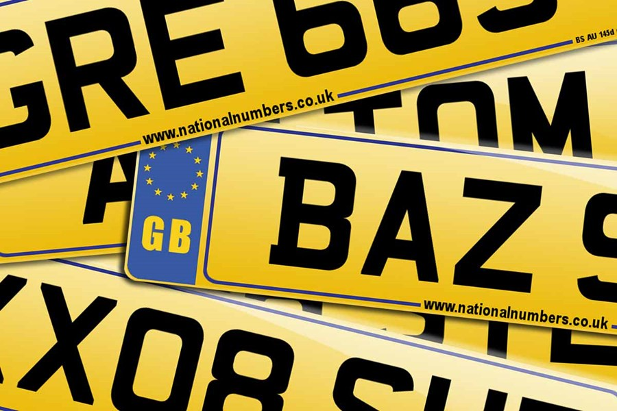 A Private Number Plate
