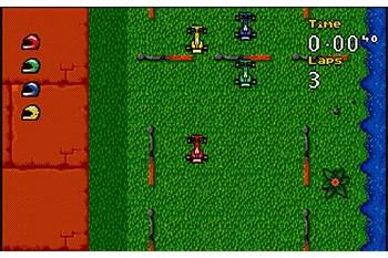 Micro Machines Turbo Tournament '96 Gameplay Screenshot