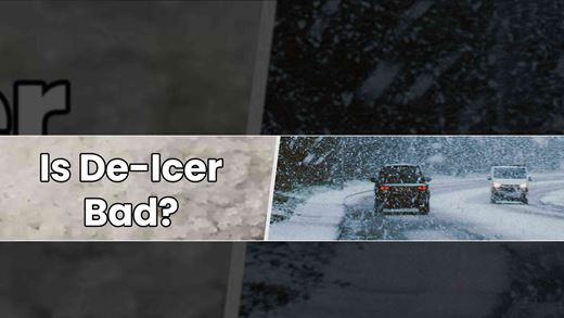 Is de-icer bad for your car and the environment?