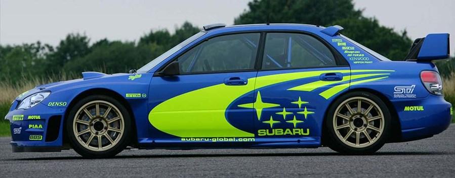 Samira Mighty - Subaru Impreza WRC