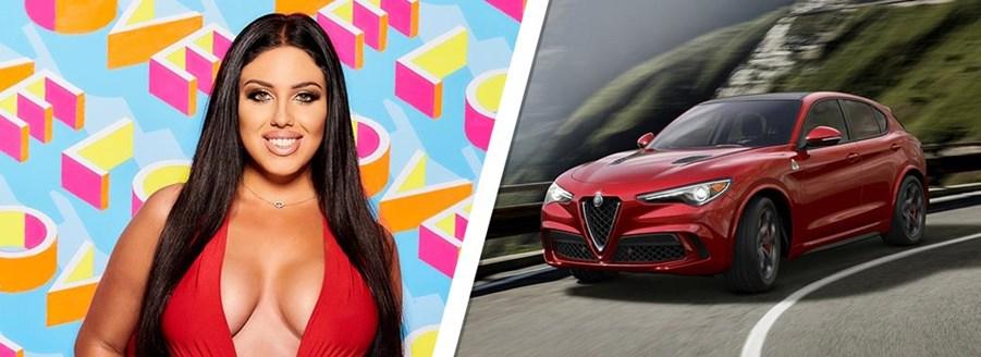 Anna Vakili - Alfa Romeo Stelvio Quadrifoglio