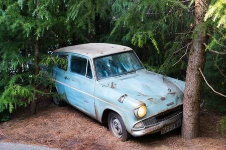 4. Harry Potter's flying Ford Anglia (1966)