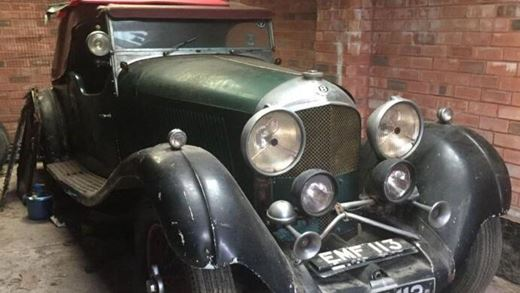 The Story of the Old Bentley