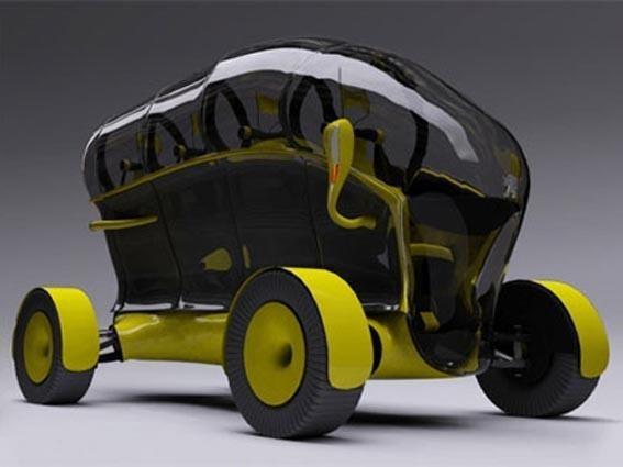 3. 2007 - Peugeot Honey-B