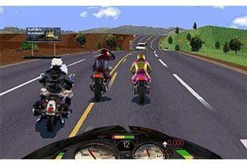 Road Rash Gameplay Screenshot