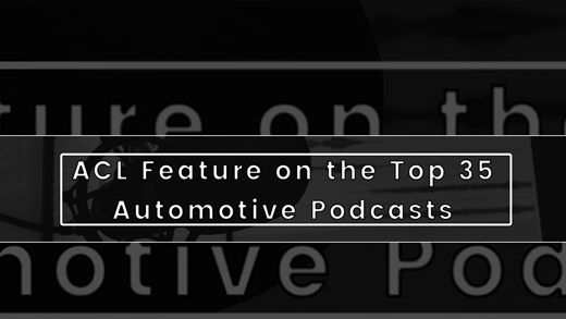 Press Release - ACL Voted As One Of The Best Automotive Podcasts