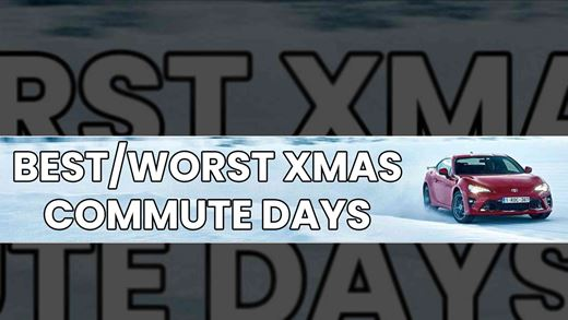 Best and worst days to travel by car this christmas