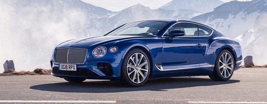 Paul Knops - Bentley Continental GT