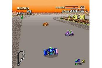 F-Zero Gameplay Screenshot
