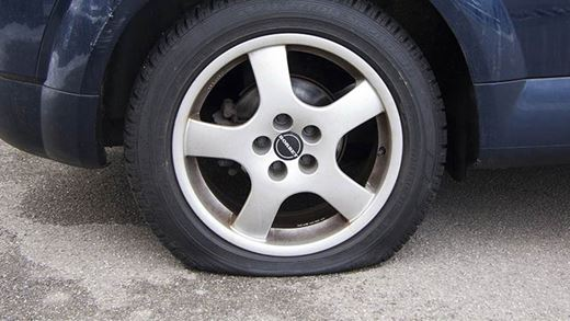 How Far Can You Drive On A Flat Tyre?