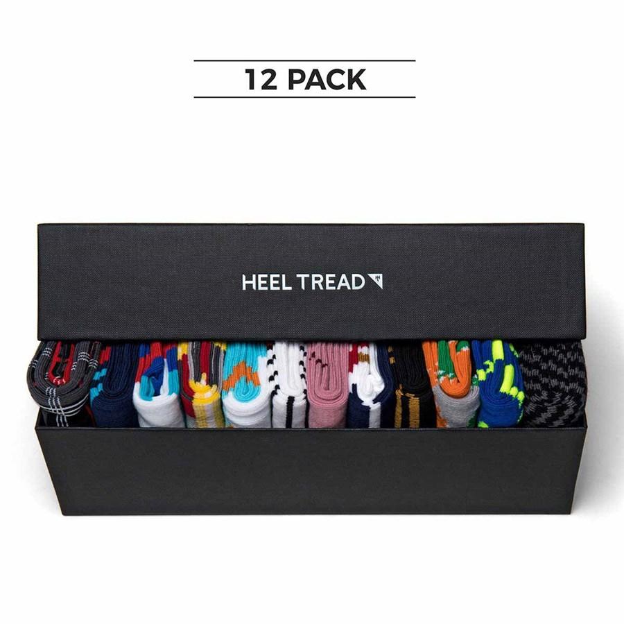 Heel Tread Iconic Car Inspired Socks