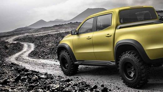 The Mercedes X Class Pick-up Is Real