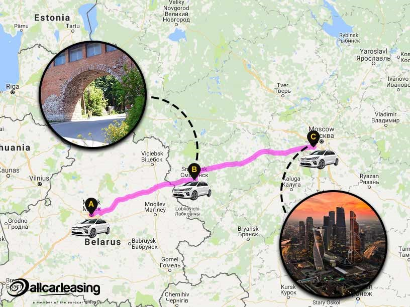 Day 4 - Belarus to Russia