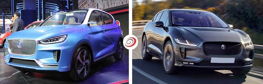 Hanteng Electric Concept / Jaguar I-Pace