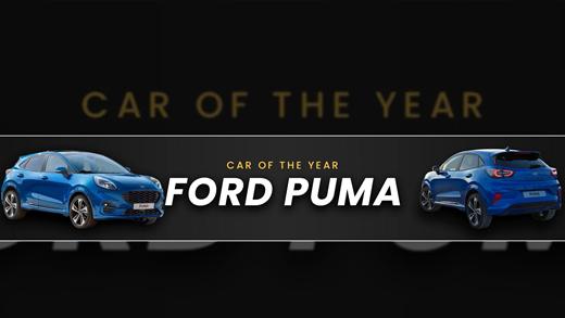 Ford Puma Wins Car Of The Year