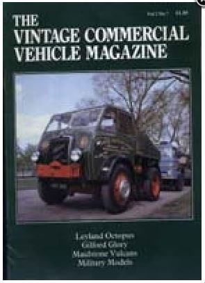 Heritage Commercials (Vintage Commercial Vehicle Magazine)