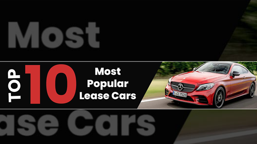 Top 10 Most Popular Lease Cars 18/19