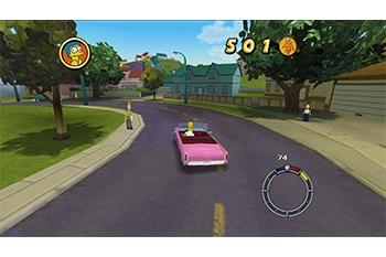 Simpsons Hit & Run Gameplay Screenshot