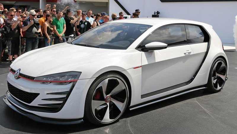 2. 2013 Volkswagen Golf GTI Concept