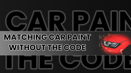 Matching Car Paint Without Code