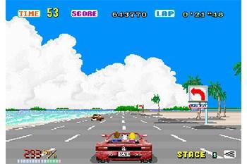 OutRun Gameplay Screenshot