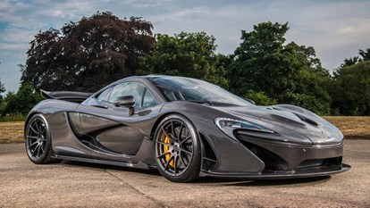 McLaren P1 - the P1 in this image was owned by Jenson Button.