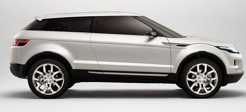 1. 2008 Land Rover LRX - Range Rover Evoque