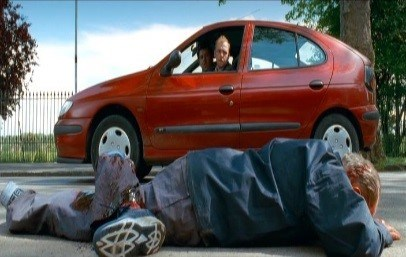 9. Shaun of the dead- Renault Megane (Hatchback)