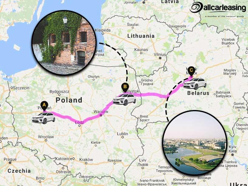 Poland To Belarus