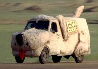 2. Dog Car- Dumb & Dumber- Ford Econoline (1984)