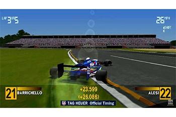 Formula 1 '97 Gameplay Screenshot