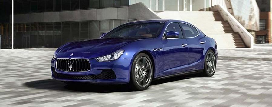 Kazimir Crossley - Maserati Ghibli