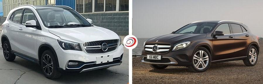 K One Vs Mercedes-Benz GLA