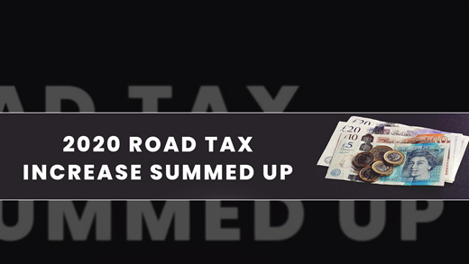 April 2020 Road Tax Changes Summed Up