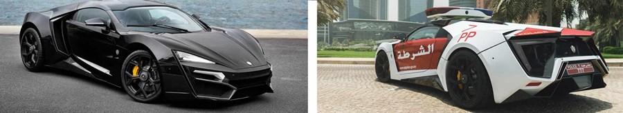 6: Lykan Hypersport - $3.4 million