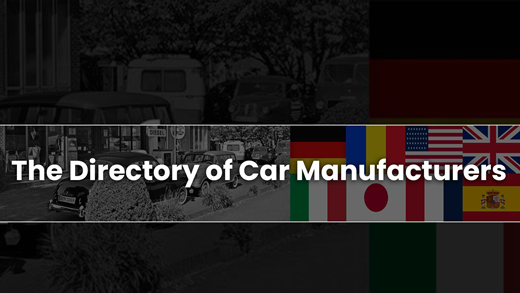 Directory of Car Manufacturers