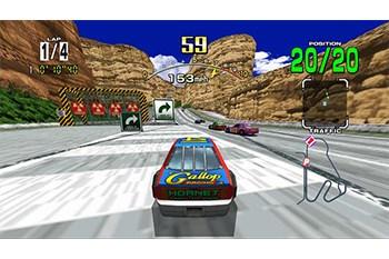 Daytona USA Gameplay Screenshot