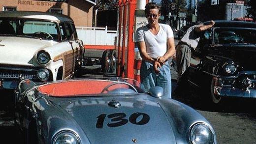 James Dean's cursed Porsche 550 Spyder