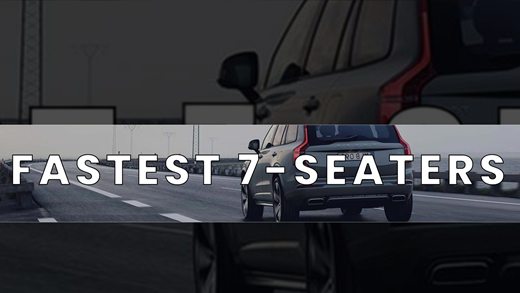 Fastest 7 Seaters