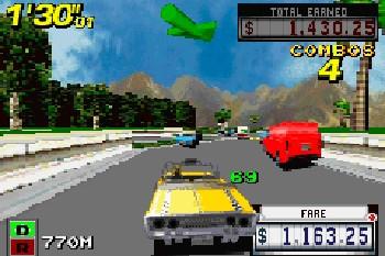 Crazy Taxi Gameplay Screenshot