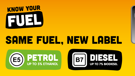 What do the new labels mean at the fuel station