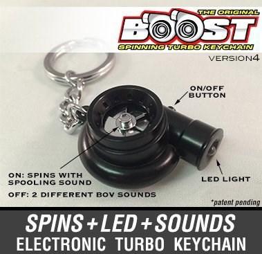 Electronic Turbocharger Keychain