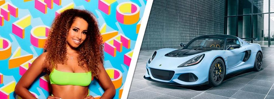 Amber Gill - Lotus Exige
