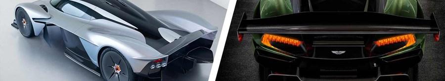 Aston Martin Lollipop Rear Lights