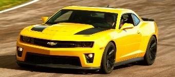 3. Bumblebee- Chevrolet Camaro SS
